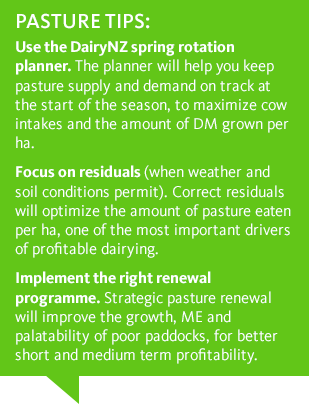 Pasture tips