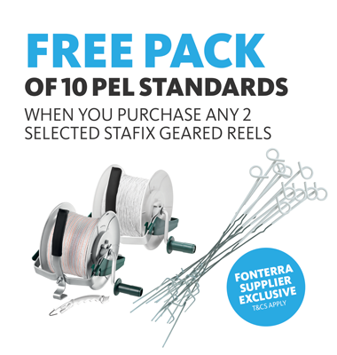 Free standards when you purchase selected reels
