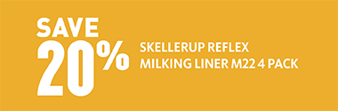 Skellerup milk liner offer