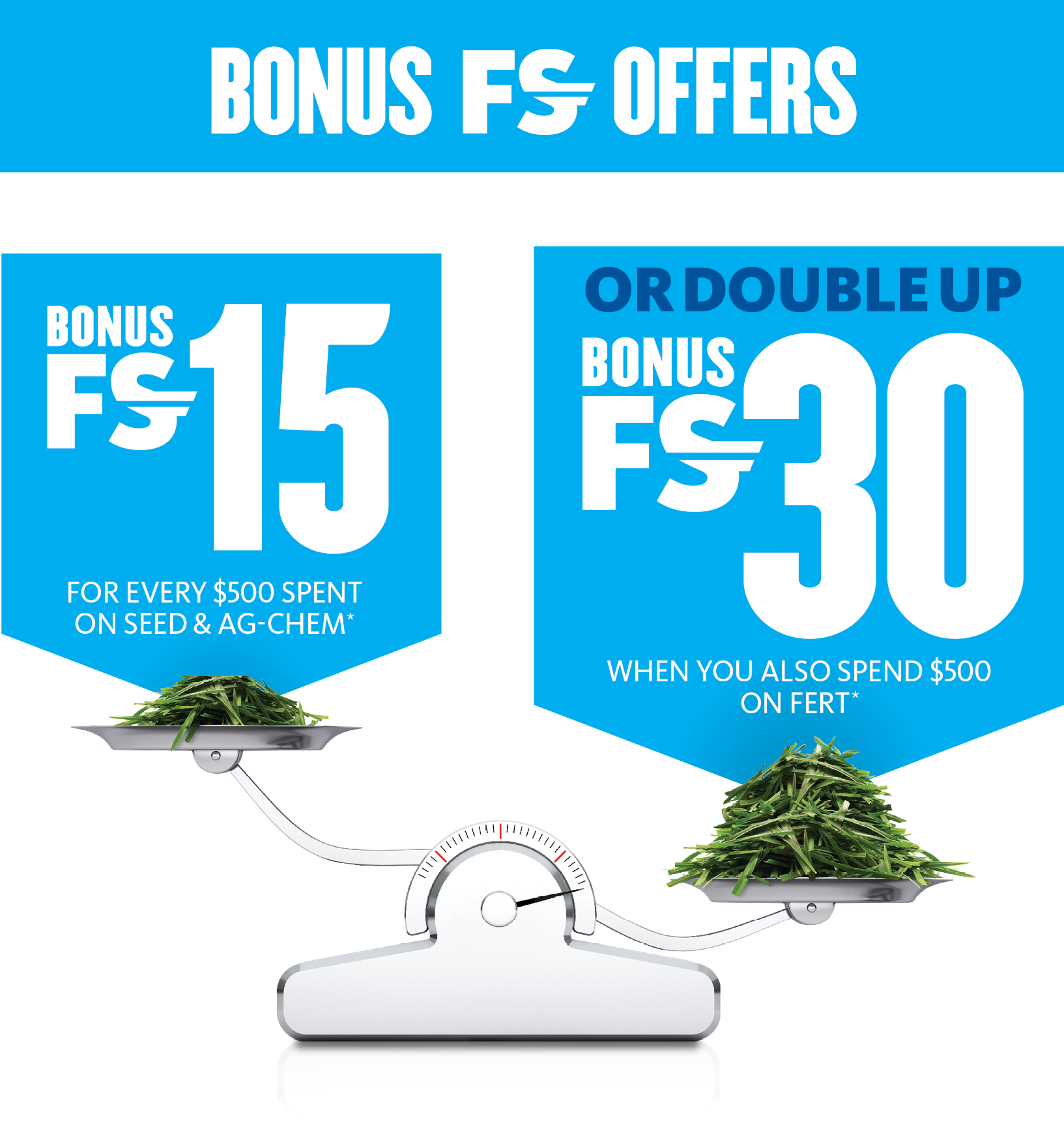 Fonterra exclusive offer