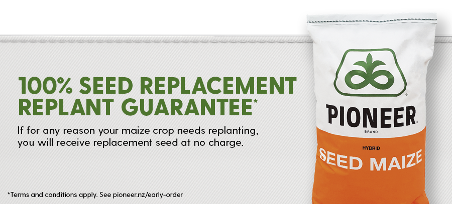 Seed replacement replant guarantee