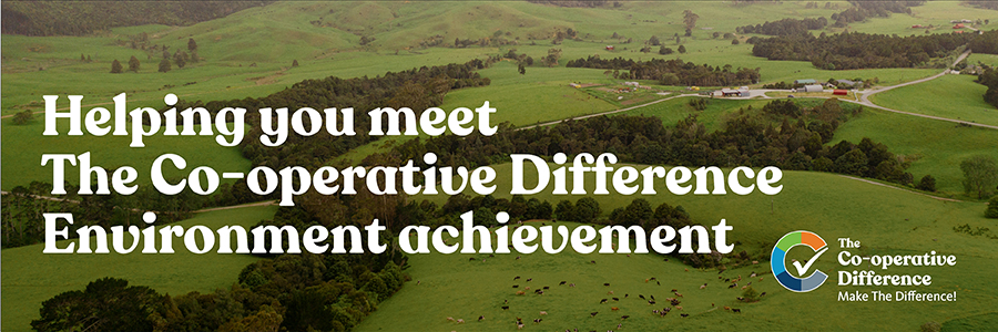 Helping you meet The Co-Operative Difference Environment achievement