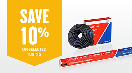 10% off selected Tubing
