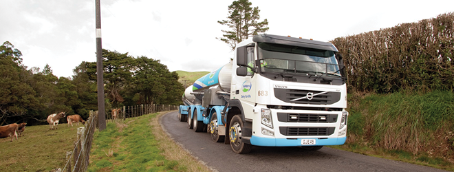 Large chunk of Fonterra fleet now running on biodiesel