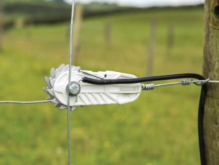 New strainer powers simple fence solution