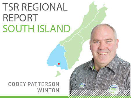 South Island TSR Regional Report - May 2018