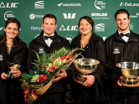 Third time lucky for 2019 New Zealand Dairy Industry Award winners