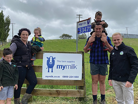 Extending MyMilk to the North Island