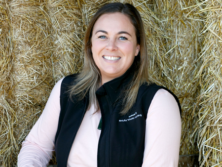 Ash-Leigh Campbell - youngest ever the Fonterra Dairy Woman of the Year