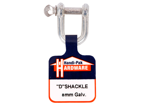Handi Pak Hardware D Shackle Galvanised 8mm Nz Farm Source