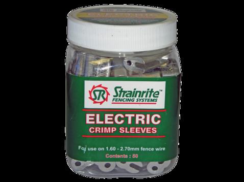 Strainrite Electric Fence Wire Crimps 50pk   NZ Farm Source