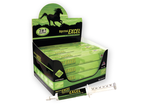 Equitak Excel Horse Wormer 30gm Nz Farm Source