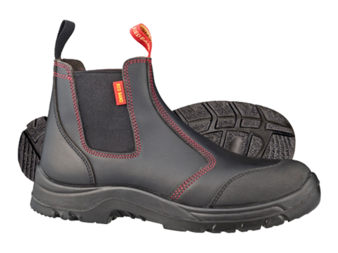 6356e10aa87 Skellerup Work Boot Red Band Slip On Safety | NZ Farm Source