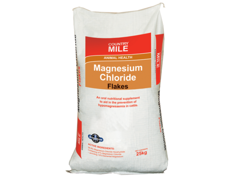 Country Mile Magnesium Chloride Flake 25kg Nz Farm Source