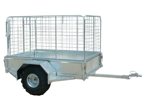 Atv Trailer 6 X 4ft With Cage Nz Farm Source
