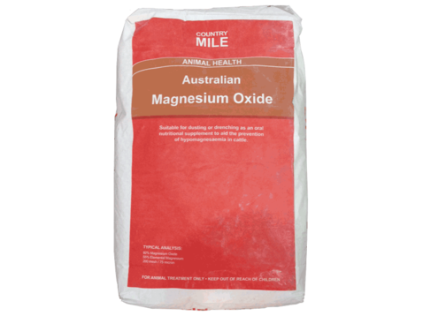 Country Mile Australian Dusting Magnesium Oxide 20kg Nz