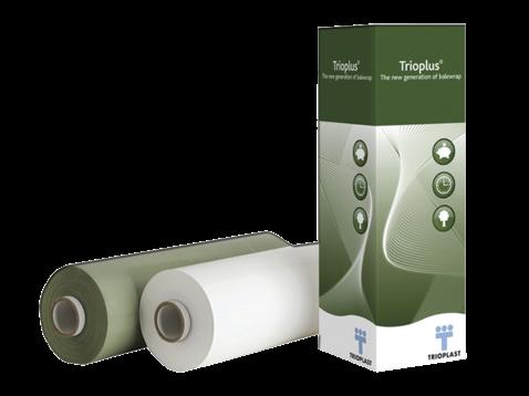 Trioplast Trioplus Silage Wrap Green 750mm X 1900m Nz