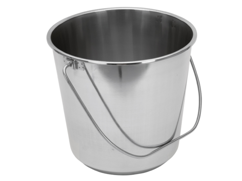 Steel Buckets nz Stainless Steel Bucket 12l