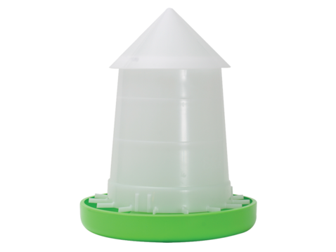Shoof Crown Suspension Poultry Feeder With Lid 8kg Nz