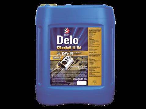 Delo Gold Ultra Sae 15w 40 Oil 18l Nz Farm Source