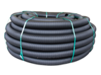 Bailey Pipe Black Snake Slotted Drainage Coil 110mm x 30m