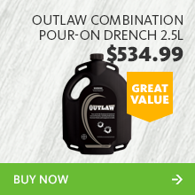 240091 outlaw combination pour on drench 2.5l