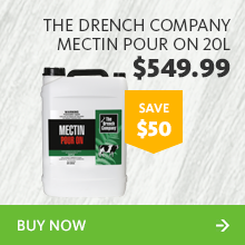 251339 the drench company mectin pour on 20l