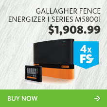 249039 gallagher fence energizer i series m5800i